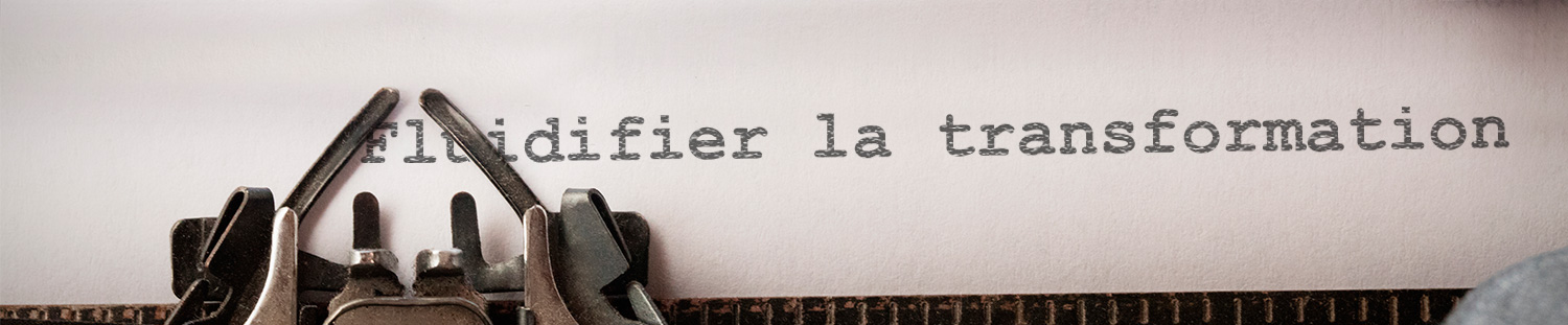 Fluidifier la transformation